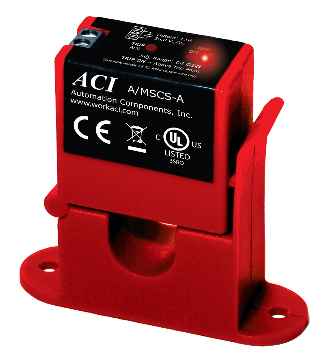 Switches Electrical Devices Elko Current Relay Aci Split Core Adjustable Switch 070 To 150a