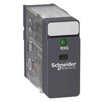 Schneider 12VDC 2 Pole Relay DPDT with Indicator