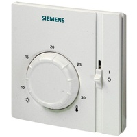 Siemens Thermostat with Setpoint and On/Off Switch
