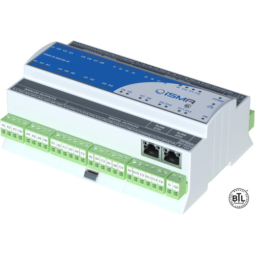 iSMA MIX38-IP Ethernet Input/Output Module