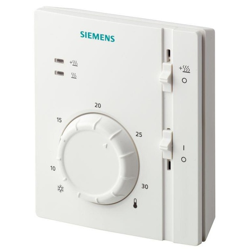 Siemens Thermostat with Setpoint On/Off and Mode
